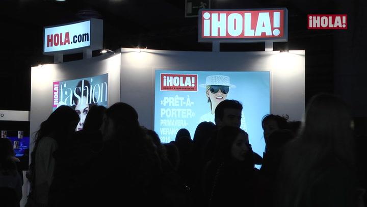 En el stand de ¡HOLA! el público pudo disfrutar posando como las \'top model\'