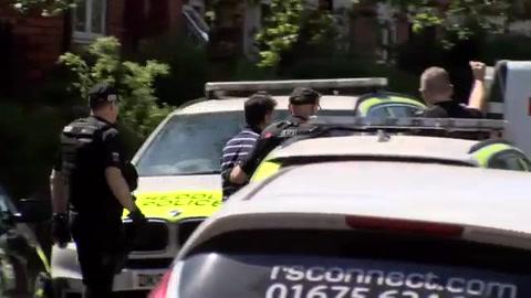 Ocho personas seguían retenidas por ataque de Mánchester