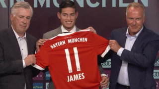 James Rodríguez llega al Bayern