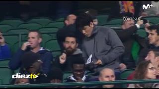 Así como cuando vas por primera vez al estadio: La odisea de dos hinchas asiáticos en el Betis-Barcelona