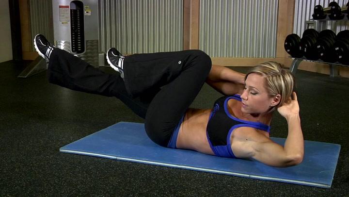 Air Bike - Ab Exercises - Bodybuilding.com