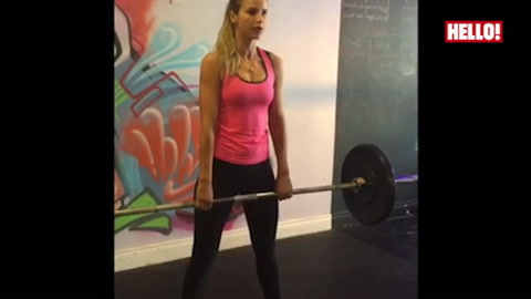 Latest workout video from Vogue Williams