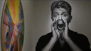 Exhiben colección de arte del cantante David Bowie