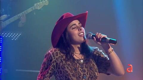 La cantante mexicana Sofia en TN3