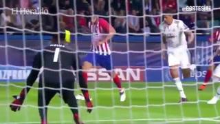 Atlético campeón de la Supercopa de Europa al vencer 4-2 al Real Madrid