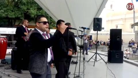 Se celebra concierto por la paz en la Concha Acústica de Tegucigalpa