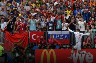 Aficionados de Marruecos provocan a Cristiano Ronaldo coreando