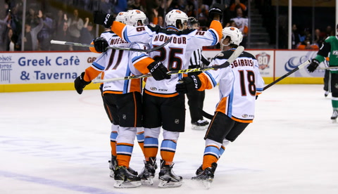 Gulls to take on rival Reign in second round of AHL playoffs