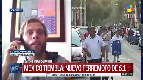 Alerta en México: postergaron tareas de rescate por un nuevo terremoto