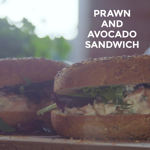 Video: Prawn and avocado sandwich