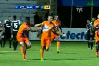 La UPN derrota a Honduras Progreso con agónico gol y es tercero en la tabla