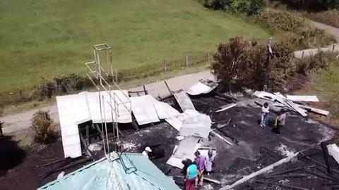 Temuco espera a papa Francisco con más incendios en iglesias