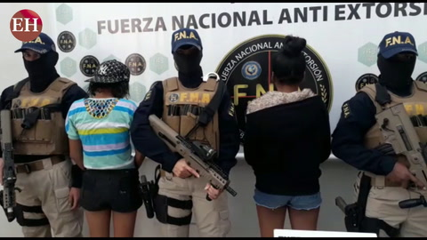 Policía captura banda de extorsionadores en la capital
