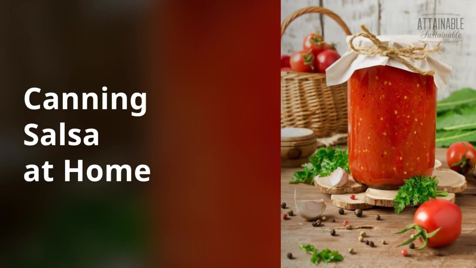 The Very Best Salsa Recipe for Canning -- Stock Your Pantry