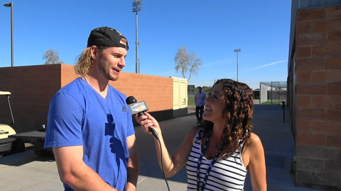 Travis Jankowski on 2017 Padres and why OF defense can be special and buying