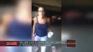 Mujer le arroja café caliente como acto de racismo