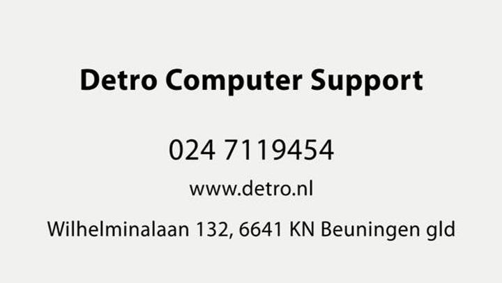 Detro Computer Support - Video tour