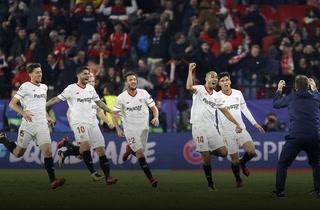 Empate épico del Sevilla ante el Liverpool en el Sánchez-Pizjuán