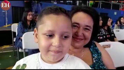 Víctor Reyes el niño que causó furor en la Teletón 2017