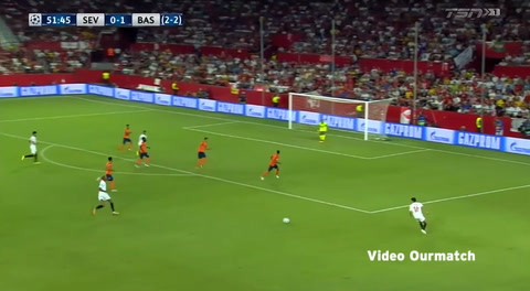 Sevilla 2-2 Istanbul Basaksehir (Play-Offs Champions League 2017)