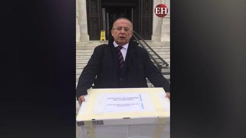 Theodore Dale presenta impugnaciones ante OEA en Washington