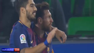 Un Barça sin frenos le obsequia