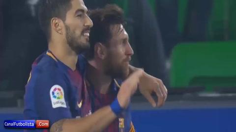 Un Barça sin frenos le obsequia una