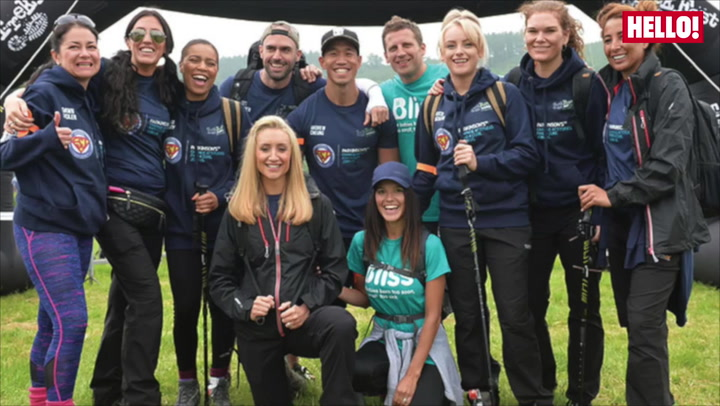 Catherine Tyldesley climbs the Brecon Beacons for a very good cause
