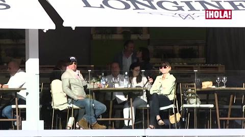En vídeo: Bruce Springsteen apoya desde la tribuna a su hija Jessica en el torneo de saltos de Madrid