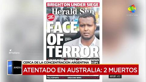 Atentado del ISIS en Melbourne, cerca del hotel donde se aloja Argentina