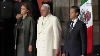 El Papa Francisco visita el Palacio Nacional