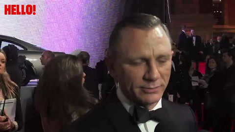 HELLO! on the red carpet at the Skyfall premiere