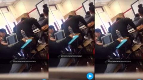 Estudiantes salen de clase luego de que su maestra les pida hablar ingles en EE.UU