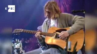 Kurt Cobain, mito del rock que persiste
