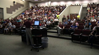 The Graduate School new student orientation at Florida State University
