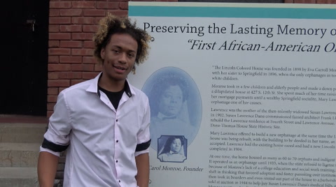 Zaire Harris Lincoln Colored Home Interview