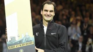Federer se convierte en el número 1 de más edad de la historia