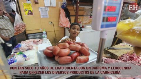 La dedicación de este pequeño gran hondureño, es digna  de compartir