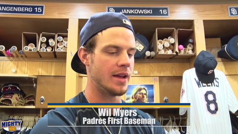 Wil Myers on making the All-Star team & participating in HR Derby
