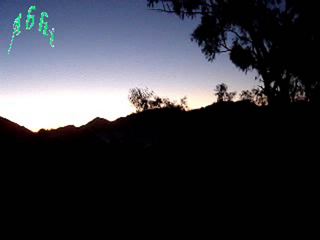 Mount Abu Videos-sunrise from hotel