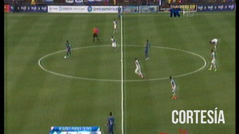 Honduras vence 2-0 a El Salvador en un amistoso jugado en EE UU en la primera parte