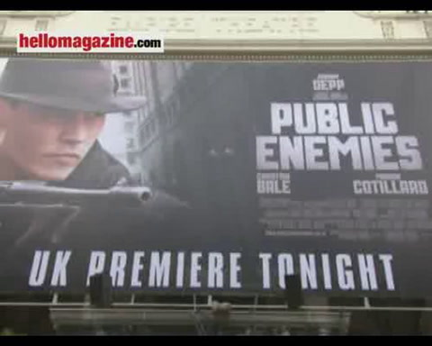 Johnny Depp pays tribute to Michael Jackson at \'Enemies\' premiere