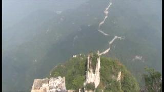 La Gran Muralla china, en peligro por erosión y vandalismo