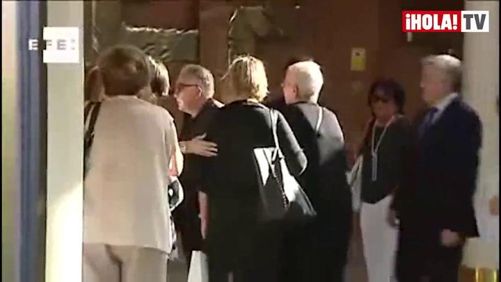 Andrés Vicente Gómez: \'Venimos a despedir a Concha. No hay palabras\'