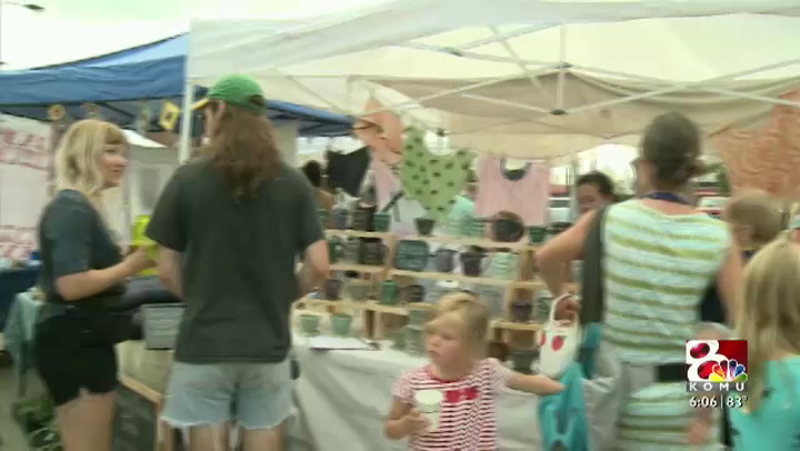 Local fair lets artists show off their crafts