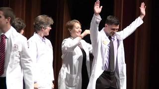 Future docs don the white coats