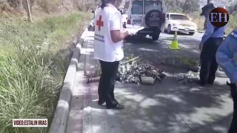 Matan a mujer y la arrojan desde un taxi en la cuesta El Chile