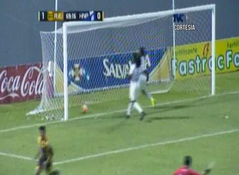 Gol de Iván López al Honduras Progreso (Liga Nacional)