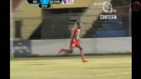 Vida derrota 3-2 al Real España en el estadio Ceibeño