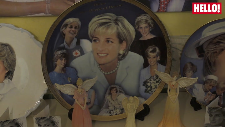 Diana super-fan with mass of memorabilia mourns \'greatest ambassador\'